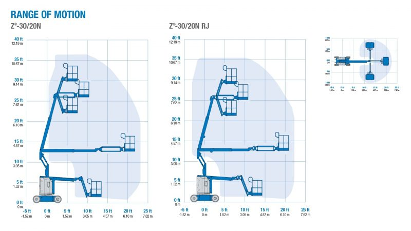 10115 nacela elevatoare bi electrica z 3020 n genie Nacela elevatoare electrica Z-30/20 N | GENIE - Unilift