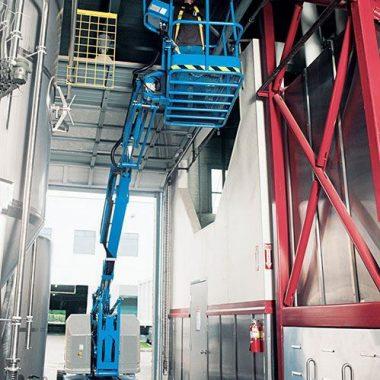 Nacela elevatoare electrica Z-34/22 DC | GENIE
