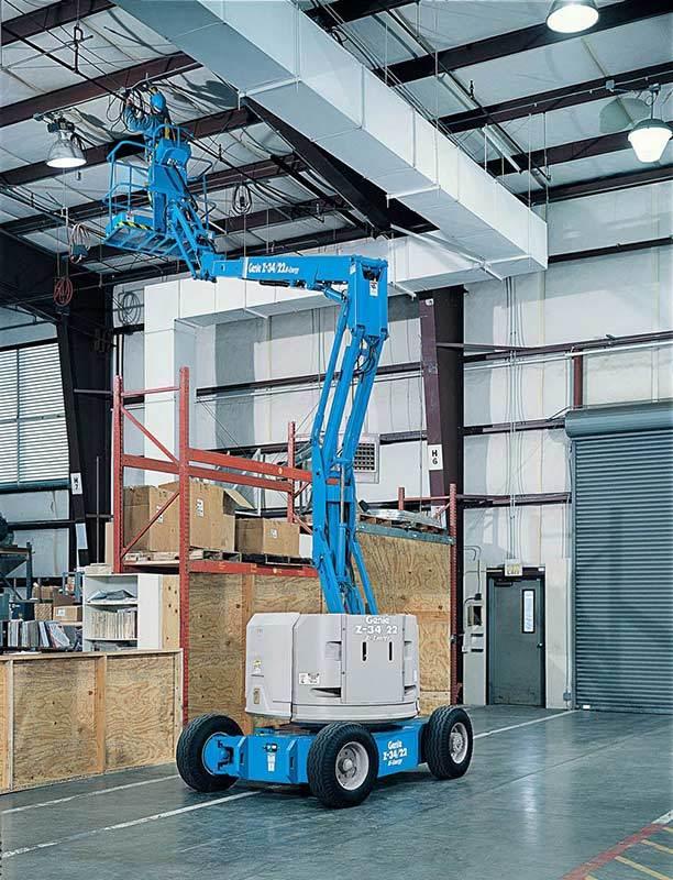 10136 nacela elevatoare electrica z 3422 dc genie Nacela elevatoare electrica Z-34/22 DC | GENIE - Unilift