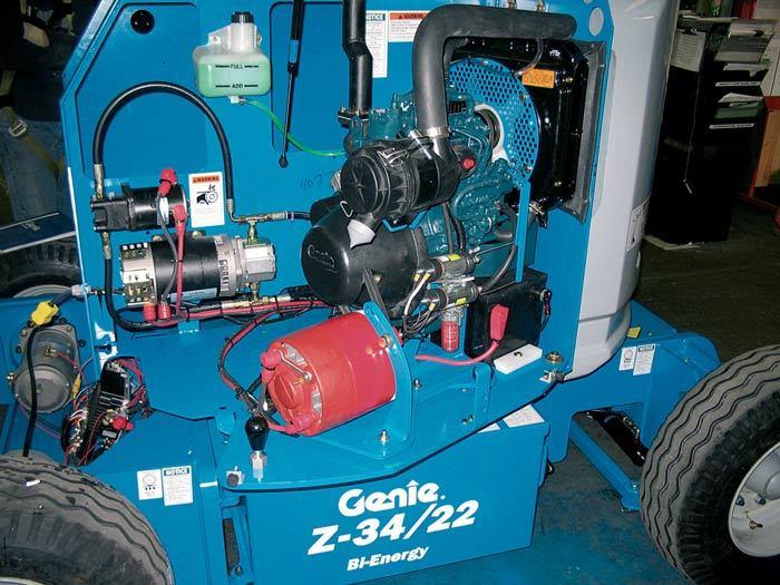 10140 nacela elevatoare electrica z 3422 dc genie Nacela elevatoare electrica Z-34/22 DC | GENIE - Unilift