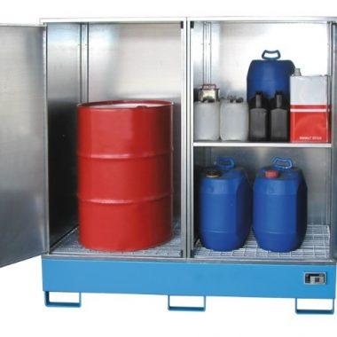 Cabina de depozitare pentru substante chimice agresive TYPE GS | Bauer