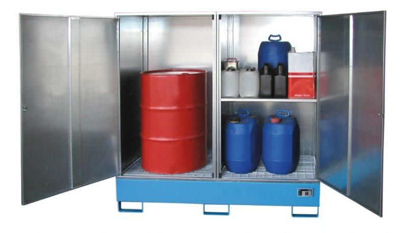 10603 cabina de depozitare pentru substante chimice agresive type gs bauer bauer sudlohn Cabina de depozitare pentru substante chimice agresive TYPE GS | Bauer - Unilift