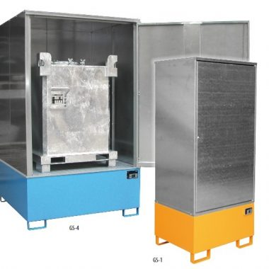 Cabina de depozitare pentru substante chimice agresive TYPE GS   Bauer