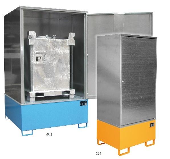 10604 cabina de depozitare pentru substante chimice agresive type gs bauer bauer sudlohn Cabina de depozitare pentru substante chimice agresive TYPE GS | Bauer - Unilift