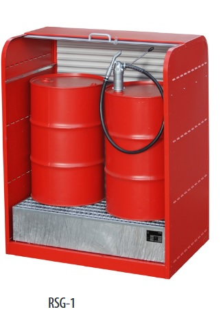 Cabina de depozitare pentru substante chimice agresive TYPE RSG | Bauer
