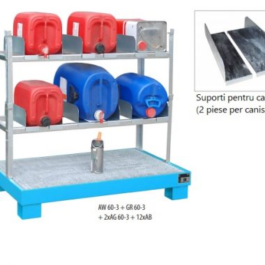 Accesorii depozitare/golire butoaie, canistre, recipiente (60l)   Bauer