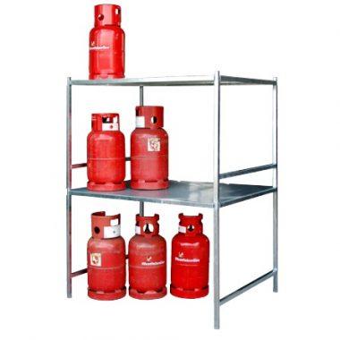 Container de depozitare pentru recipiente cu gaz TYPE GFC-M | Bauer