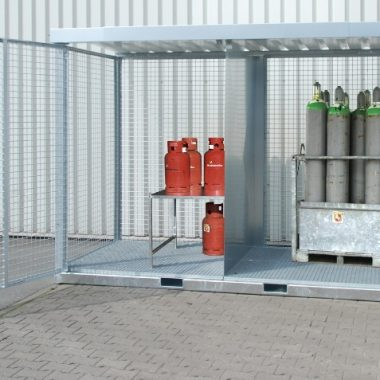 Container de depozitare pentru recipiente cu gaz TYPE GFC- E   Bauer