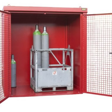 Container de depozitare pentru recipiente cu gaz TYPE GFC-B | Bauer