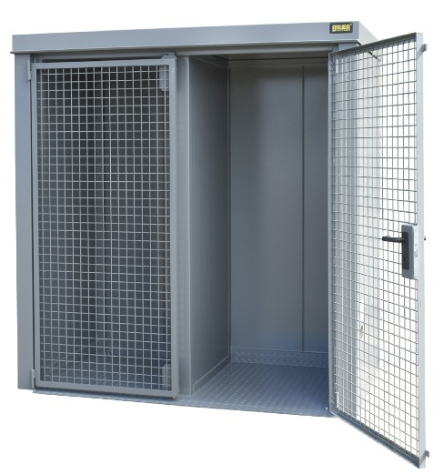 10677 container de depozitare pentru recipiente cu gaz type gfc b bauer bauer sudlohn Container de depozitare pentru recipiente cu gaz TYPE GFC-B | Bauer - Unilift
