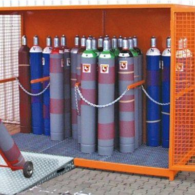 Container de depozitare pentru recipiente cu gaz TYPE GFC   Bauer