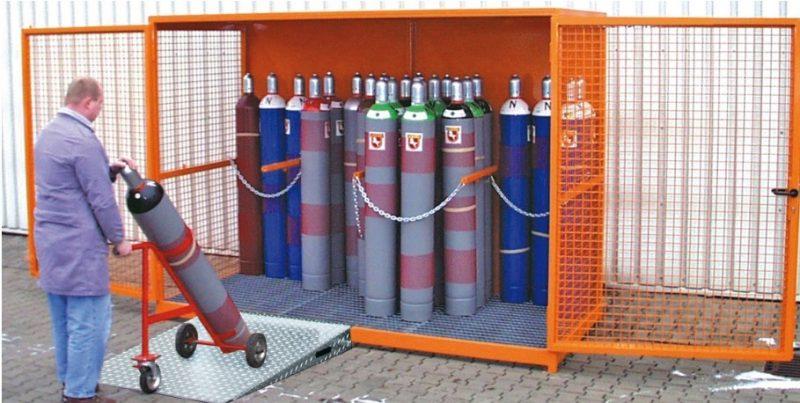 10678 container de depozitare pentru recipiente cu gaz type gfc bauer bauer sudlohn Container de depozitare pentru recipiente cu gaz TYPE GFC   Bauer - Unilift