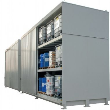 Container depozitare/transportare substante periculoase TYPE CEN   Bauer