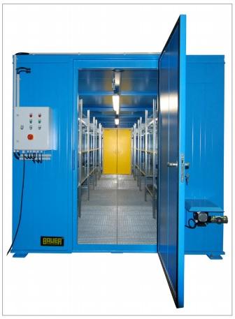 10692 depou izolat pentru substante chimice inflamabile type ceh bauer bauer sudlohn Depou/container pentru substante chimice periculoase TYPE CR / CRN / CRH | Bauer - Unilift