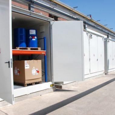 Container rezistent la incendii/explozii TYPE CB   Bauer