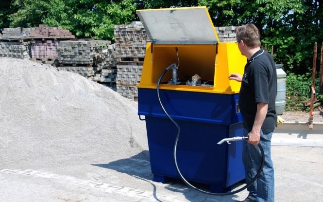 10780 container de alimentare diesel mobicont type md 800 bauer bauer sudlohn Container de alimentare diesel MOBICONT TYPE MD 800 | Bauer - Unilift