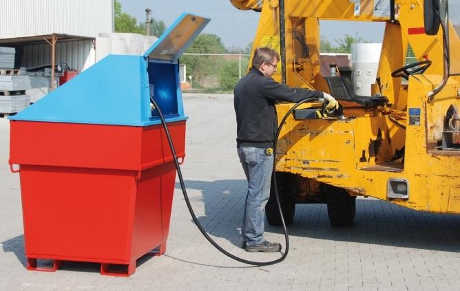 10781 container de alimentare diesel mobicont type md 800 bauer bauer sudlohn Container de alimentare diesel MOBICONT TYPE MD 800 | Bauer - Unilift