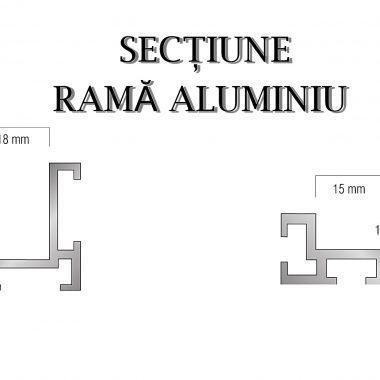 Rame si profile din aluminiu pentru marginea covoarelor   ABI