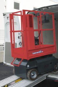 11097 platforma elevatoare leonardo hd bravi alta marca Platforma elevatoare constructii (180kg / 3-5 m) Leonardo HD | Bravi - Unilift Platforma elevatoare constructii