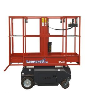 11098 platforma elevatoare leonardo hd bravi alta marca Platforma elevatoare constructii (180kg / 3-5 m) Leonardo HD | Bravi - Unilift Platforma elevatoare constructii