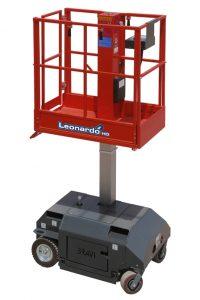 11099 platforma elevatoare leonardo hd bravi alta marca Platforma elevatoare constructii (180kg / 3-5 m) Leonardo HD | Bravi - Unilift Platforma elevatoare constructii