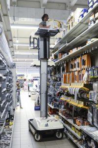 Platforma elevatoare depozite industriale (130 Kg / 5 m) Sprint | Bravi