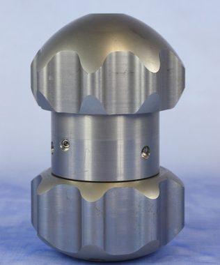 Duza oscilanta pentru depuneri de minerale solide | KEG