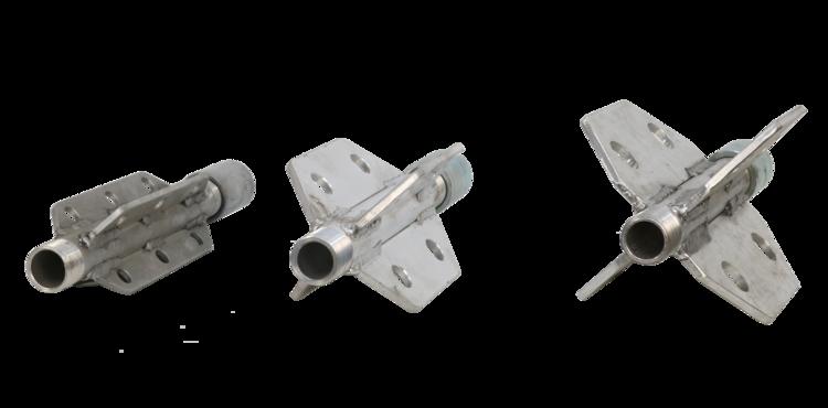 11287 duza desfundare canalizari din aluminiu cu ghidaje keg Duza desfundare canalizari din aluminiu cu ghidaje | KEG - Unilift