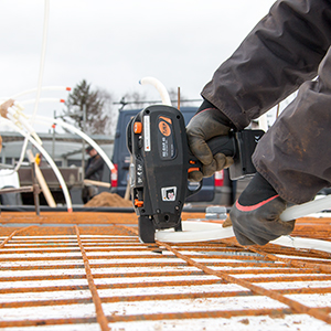 Pistol legat fier beton | RE-BAR 40 | TJEP