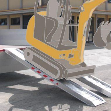 Rampe de incarcare max. 3000 kg/pereche – aliaj aluminiu – M070 | METALMEC