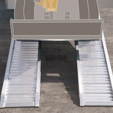 Rampe de incarcare max. 3000 kg/pereche – aliaj aluminiu – M080 | METALMEC