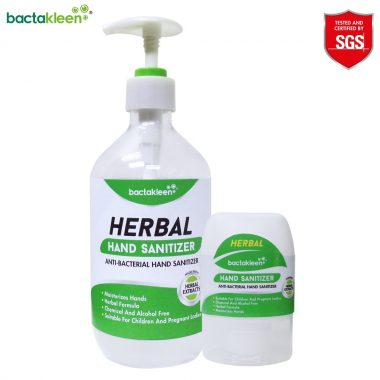 Solutie sanitara Herbal Hand Sanitizer | BactaKleen