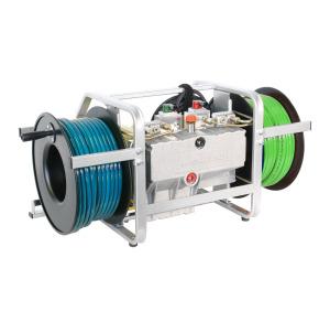 11690 unitate de putere hidraulica cu bobine laterale maxi gx160 mto resqtec Unitate hidraulica de putere cu bobine laterale MAXI GX160 MTO   Resqtec - Unilift