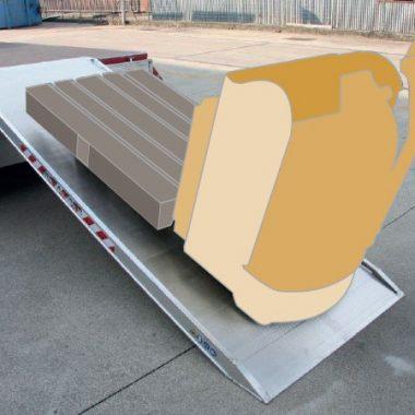 Rampa de incarcare si descarcare – max. 2000 kg – MPCP | METALMEC