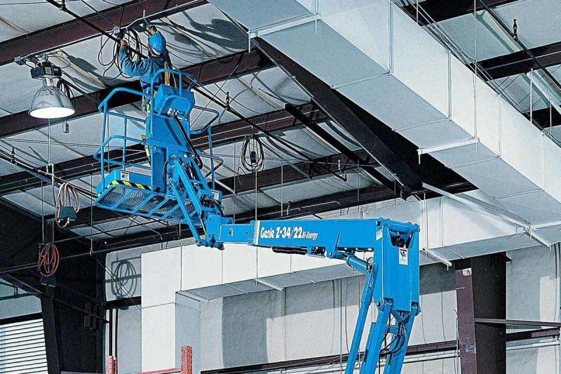 11750 nacela elevatoare electrica z 34 22 ic genie Nacela elevatoare cu brat articulat Z-34/22 IC   GENIE - Unilift