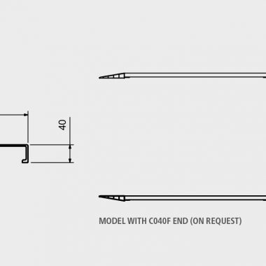 Rampe de incarcare si descarcare – max. 2900 kg pe pereche | M040B2 | METALMEC