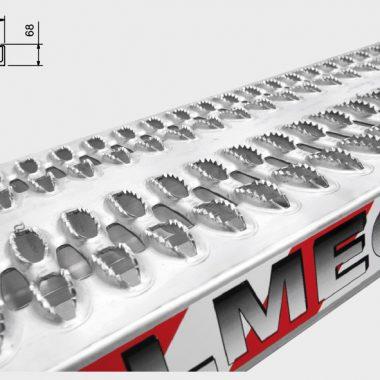 Rampe de incarcare si descarcare – max. 4500 kg pe pereche | M060B3 | METALMEC