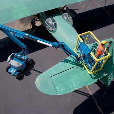 Nacela elevatoare cu brat articulat Z-45/25J Bi-Energy | GENIE