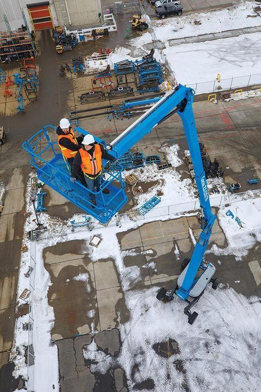 11886 nacela elevatoare cu brat articulat zx 135 70 genie Nacela elevatoare cu brat articulat ZX-135/70   GENIE - Unilift