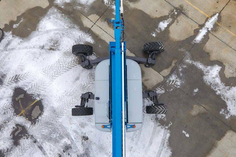 11889 nacela elevatoare cu brat articulat zx 135 70 genie Nacela elevatoare cu brat articulat ZX-135/70   GENIE - Unilift