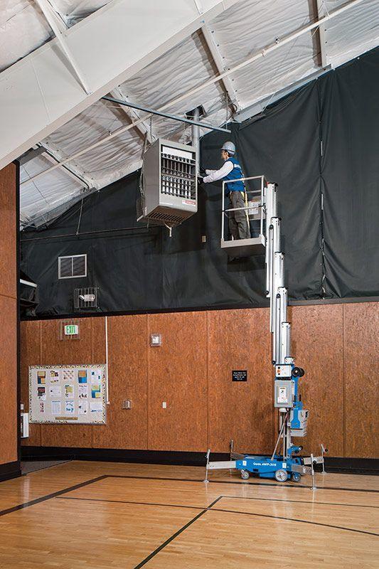 12022 nacela elevatoare de lucru la inaltime awp 40s genie Nacela elevatoare de lucru la inaltime AWP-40S | GENIE - Unilift