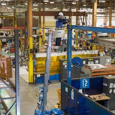 Nacela elevatoare de lucru la inaltime IWP-30S | GENIE