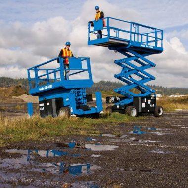 Nacela elevatoare pentru teren denivelat GS-4069 RT | GENIE