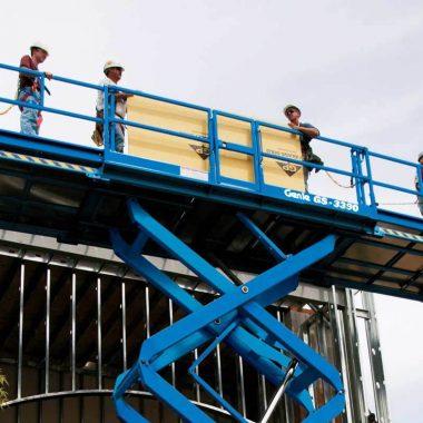 Nacela elevatoare pentru teren denivelat GS-5390 RT | GENIE