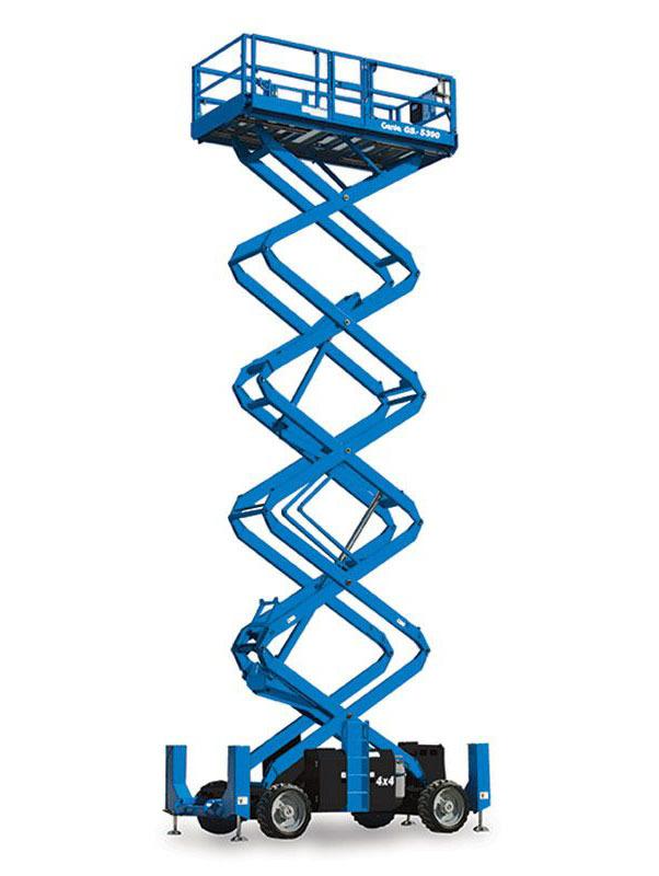 12110 nacela elevatoare pentru teren denivelat gs 5390 rt genie Nacela elevatoare pentru teren denivelat GS-5390 RT | GENIE - Unilift