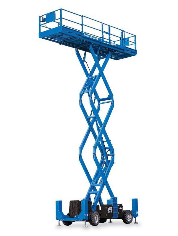 12126 nacela elevatoare pentru teren denivelat gs 3384 rt genie Nacela elevatoare pentru teren denivelat GS-3384 RT | GENIE - Unilift