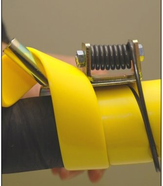 Dispozitiv de montare protectie furtun 63-140mm | Safeplast