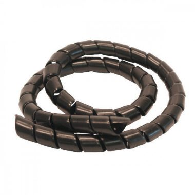 Protectie pentru furtune hidraulice | SAFE-SPIRAL 25 mm, negru | Safeplast