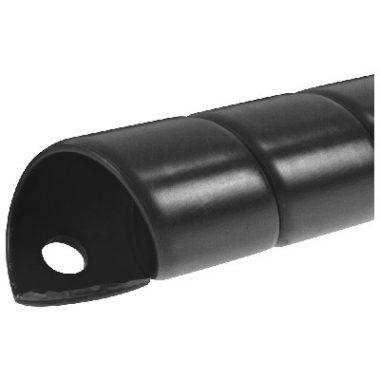 Protectie pentru furtune hidraulice | SAFESPIRAL 90 mm, negru | Safeplast