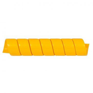 Protectie pentru furtune hidraulice | SAFESPIRAL 90 mm, galben | Safeplast